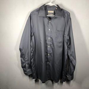 Michael Michael Kors Gray dress shirt size 18